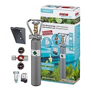 Kit complet de CO2 (bouteille rechargeable) EHEIM SET 400 - 500g (aquarium <400L)