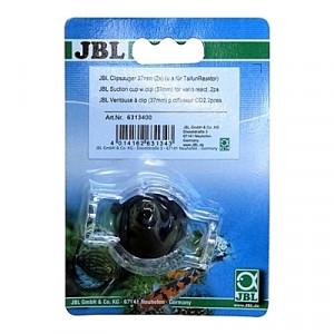 2 Ventouses avec pinces pour fixer un diffuseur de CO2 de type JBL ProFlora Taifun