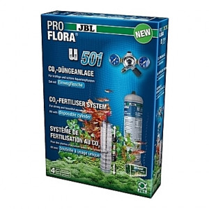 Kit de CO2 complet (bouteille jetable) JBL Proflora u501 - 500g (aquarium <400L)