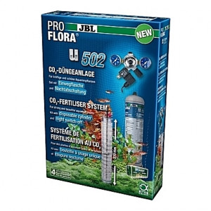 Kit de CO2 complet (bouteille jetable) JBL Proflora u502 - 500g (aquarium <600L)