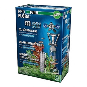 Kit de CO2 complet (bouteille rechargeable) JBL Proflora m501 - 500g (aquarium <400L)