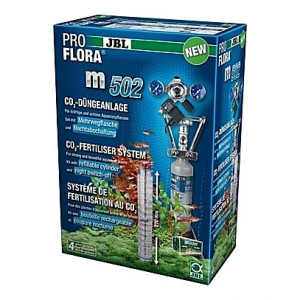 Kit de CO2 complet (bouteille rechargeable) JBL Proflora m502 - 500g (aquarium <600L)