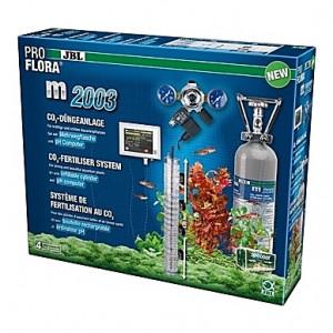 Kit de CO2 complet (bouteille rechargeable) JBL Proflora m2003 avec contrôleur de pH - 2kg (aquarium <1000L)