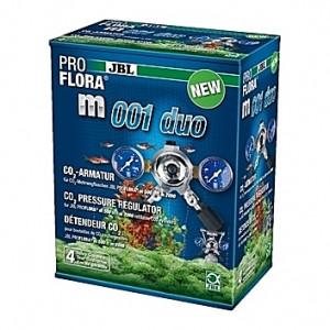 Détendeur CO2 de précision pour bouteilles rechargeables JBL Proflora m001 Duo - 2 sorties