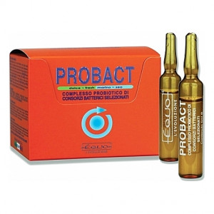 Complexe probiotique Equo PROBACT à action antibiotique et antivirale - 24 ampoules 5ml