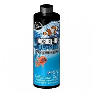 Anti-algues, conditionneur et clarificateur d'eau naturel Microbe-Lift Aqua-Pure - 236ml