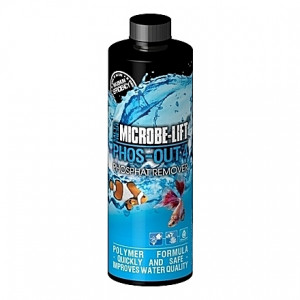 Anti-phosphates, silicates et sulfure Microbe-Lift Phos-Out 4 - 473ml