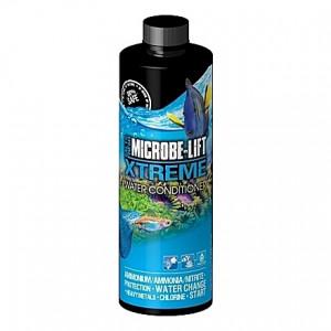 Préparateur d'eau Microbe-Lift Xtreme par élimination des nocivités et protection des pensionnaires - 473ml