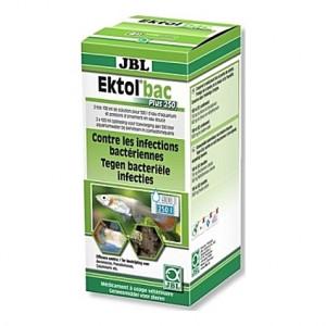 Anti-bactérien JBL Ektol bac Plus 250 contre les infections bactériennes - 200ml
