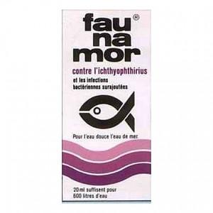 Traitement contre les points blancs FAUNAMOR et prévention des infections bactériennes secondaires - 20ml (=600L)