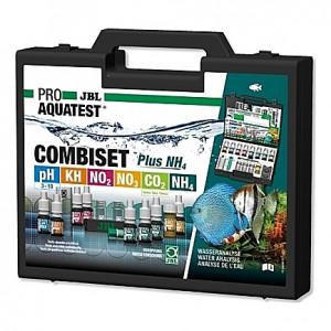 Mallette de 6 tests de qualité d'eau JBL COMBISET Plus NH4