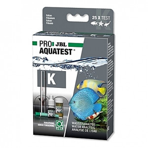 Test du taux de potassium JBL PRO AQUATEST K Kalium