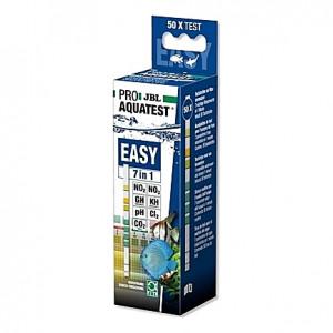 Bandelettes d'analyse de l'eau JBL PRO AQUATEST EASY 7 en 1 - 50 bandes