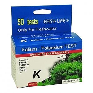 Test du taux de potassium EASY-LIFE Kalium K - 50 tests