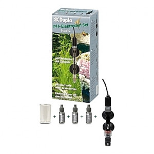 Electrode pH SET BASIC - Sonde Dupla + solutions