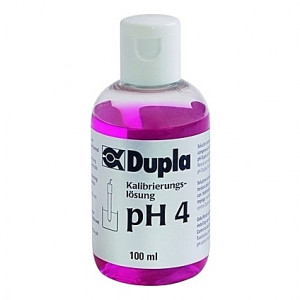 Solution de calibrage pH 4 Dupla - 100ml