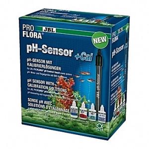 Sonde pH avec solutions d'étalonnage JBL Proflora pH-Sensor+Cal