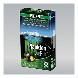 Zooplancton naturel JBL Plankton Pur M5 - 8x5g pour poissons de 4 à 14cm
