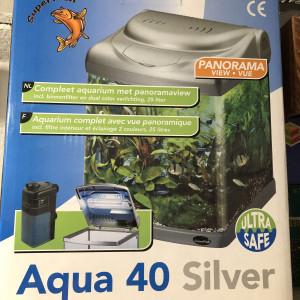 Aquarium Aqua 40 Silver