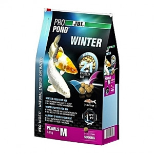 Perles coulantes d'hiver JBL ProPond Winter Taille M (6mm) - 1,8Kg