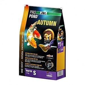 Pastilles coulantes d'automne JBL ProPond Autumn Taille S (3mm) - 1,5Kg