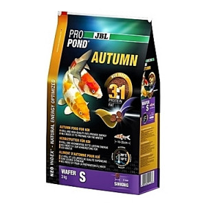 Pastilles coulantes d'automne JBL ProPond Autumn Taille S (3mm) - 3Kg