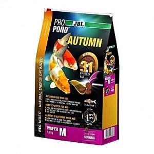 Pastilles coulantes d'automne JBL ProPond Autumn Taille M (6mm) - 1,5Kg