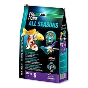 Bâtonnets flottants toutes saisons JBL ProPond All Seasons Sticks Taille S (8mm) - 1Kg