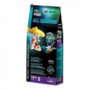 Bâtonnets flottants toutes saisons JBL ProPond All Seasons Sticks Taille S (8mm) - 5,8Kg