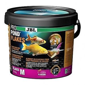 Flocons flottants JBL ProPond Flakes Taille M (5 à 20mm) - 0,72Kg