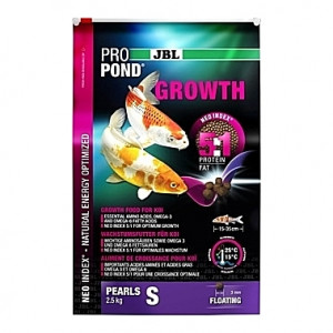 Perles flottantes de croissance JBL ProPond Growth Taille S (3mm) - 2,5Kg