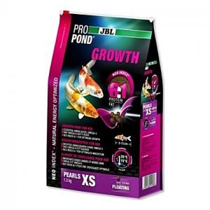 Perles flottantes de croissance JBL ProPond Growth Taille XS (1,5mm) - 0,42Kg