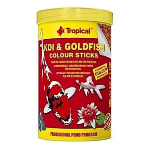 Bâtonnets élévateurs de couleurs Tropical KOI & GOLDFISH Colour Sticks - 1L