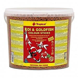 Bâtonnets élévateurs de couleurs Tropical KOI & GOLDFISH Colour Sticks - 5L