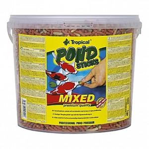 Bâtonnets flottants Tropical POND Sticks MIXED Premium Quality - 5L
