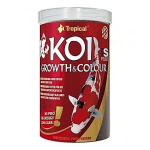 Pastilles croissance et couleur Tropical KOI GROWTH & Colour PELLET Taille S - 1L