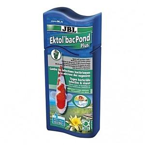 Contre les infections bactériennes et la nécrose des nageoires JBL Ektol BacPond Plus - 500ml