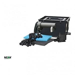 Filtre complet PRATICO 3000 (uvc7w+NJ1200+Mousses)
