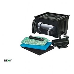 Filtre complet PRATICO 5000 (uvc7w+adv1200+Mousses)