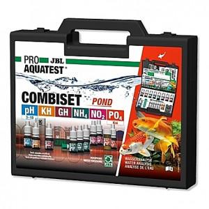 Mallette de tests de qualité d'eau JBL ProAquaTest COMBISET POND