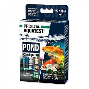 Test d'acidité et de durée carbonatée JBL Pro AquaTest POND Check pH/KH
