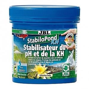 Stabilisateur d'acidité (pH) et la dureté carbonatée (KH) JBL StabiloPond KH - 250g