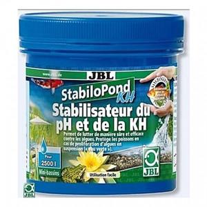 Stabilisateur d'acidité (pH) et la dureté carbonatée (KH) JBL StabiloPond KH - 2,5Kg