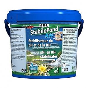 Stabilisateur d'acidité (pH) et la dureté carbonatée (KH) JBL StabiloPond KH - 10Kg