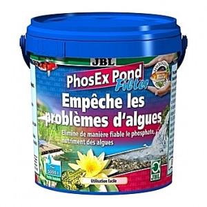Anti-algues JBL PhosEx Pond Filter par élimination du phosphate - 500g