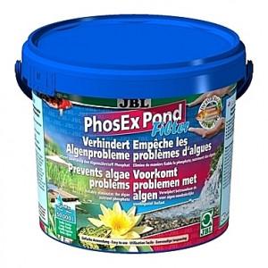 Anti-algues JBL PhosEx Pond Filter par élimination du phosphate - 2,5Kg