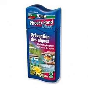 Prévention des algues JBL PhoEx Pond Direct par élimination des phosphates - 250ml