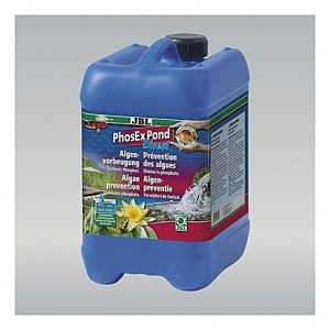 Prévention des algues JBL PhoEx Pond Direct par élimination des phosphates - 5L
